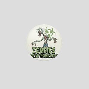 Zombies-Ate-Homework Mini Button