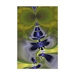 Green Goblin Abstract Fractal Mini Poster Print