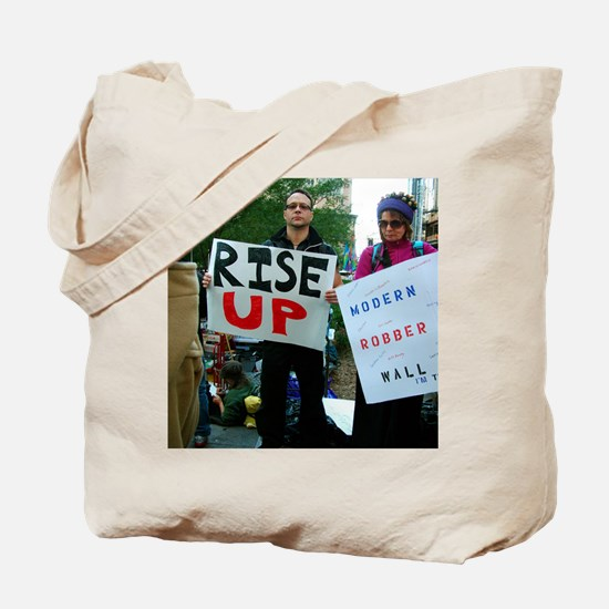 OWS: OccupyWallSt 020 Tote Bag