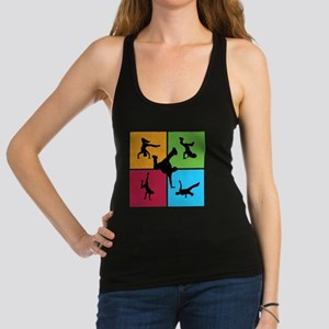 breakdance8 Racerback Tank Top