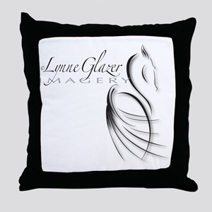 StampOutlinefont_embossed Throw Pillow