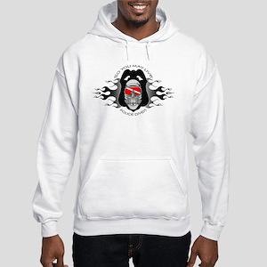 So You May Live Flame Badge Hooded Sweatshirt
