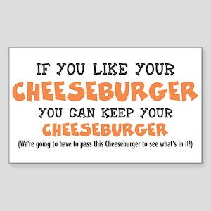 Anti Obamacare Humor Sticker