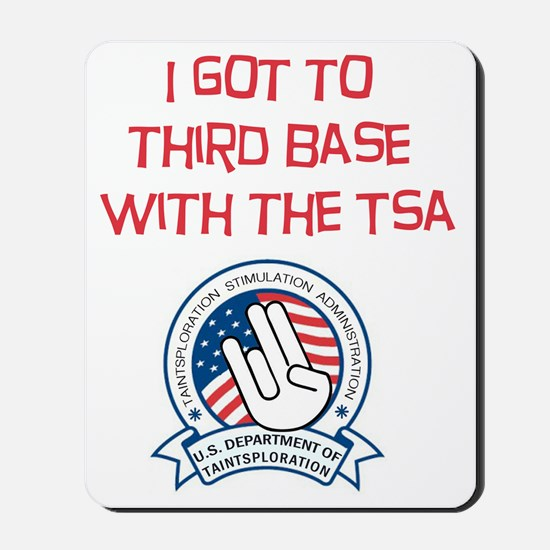 THIRD BASE Mousepad