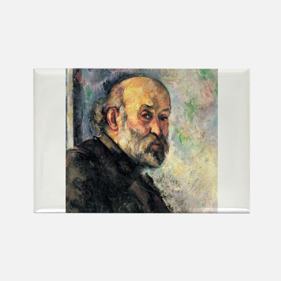 Self Portrait - Paul Cezanne - c1895 Magnets