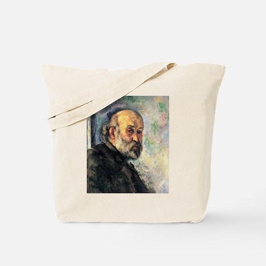 Self Portrait - Paul Cezanne - c1895 Tote Bag