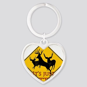 Its just better Heart Keychain