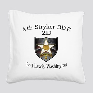 4th SBCT Square Canvas Pillow