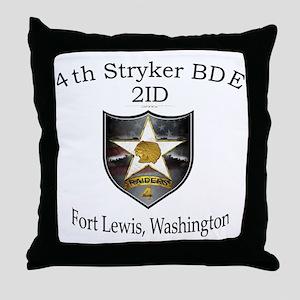 4th SBCT Throw Pillow