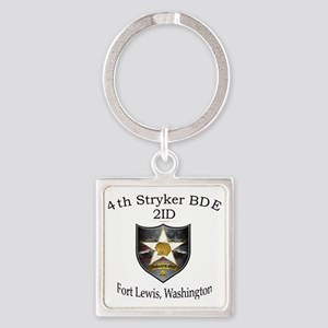 4th SBCT Square Keychain