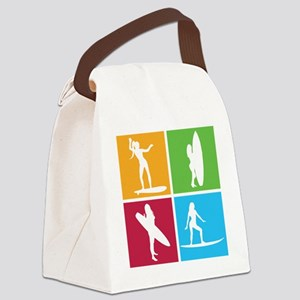surfing4 Canvas Lunch Bag