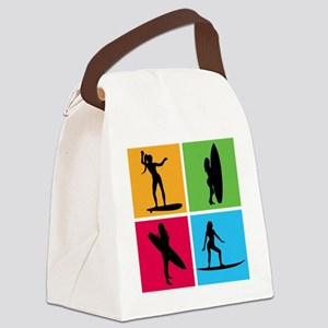 surfing5 Canvas Lunch Bag