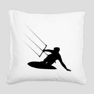 surfing35 Square Canvas Pillow
