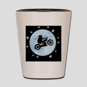 santa-moon-bike-CRD Shot Glass