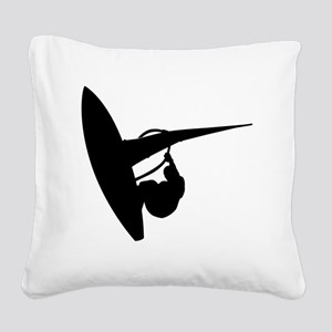 surfing53 Square Canvas Pillow