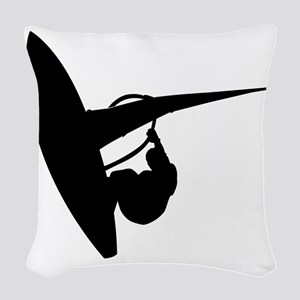 surfing53 Woven Throw Pillow