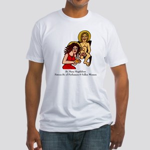 Mary Magdalene Fitted T-Shirt