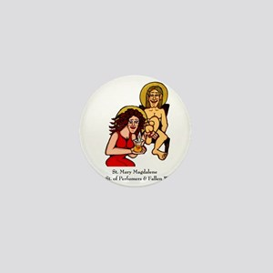 Mary Magdalene Mini Button