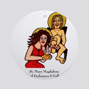 Mary Magdalene Round Ornament