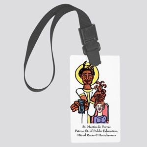 Martin de Porres Large Luggage Tag