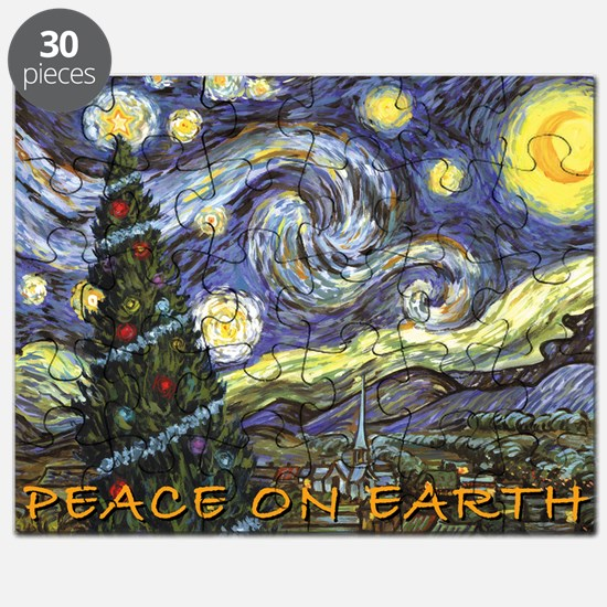 Starry Night/ Peace on Earth Puzzle