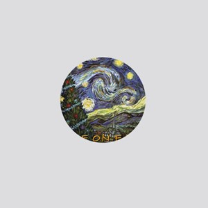 Starry Night/ Peace on Earth Mini Button