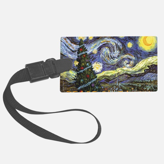 Starry Night/ Peace on Earth Luggage Tag