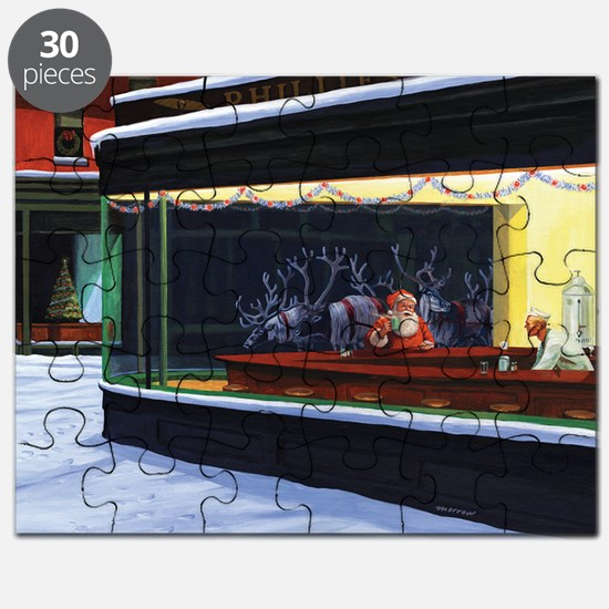 Christmas Diner Puzzle