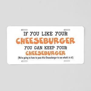 Anti Obamacare Humor Aluminum License Plate