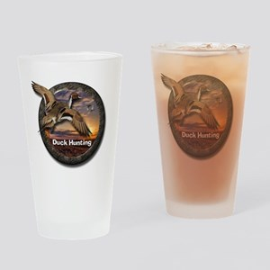 Duck Hunting Drinking Glass