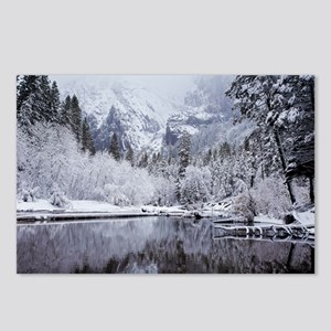 Wintry Cathedral Beach, Y Postcards (Package of 8)