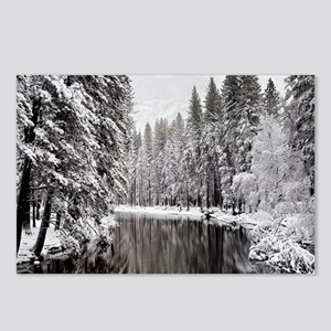 Winter, Merced River (Yos Postcards (Package of 8)