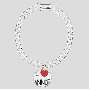 ANNIE Charm Bracelet, One Charm