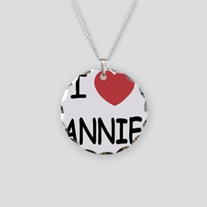 ANNIE Necklace Circle Charm