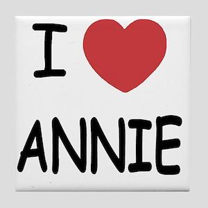 ANNIE Tile Coaster