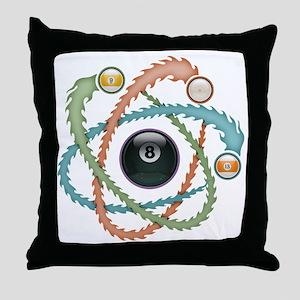 atomic-pool-T Throw Pillow
