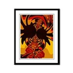 Ferocious Creature Framed Panel Print