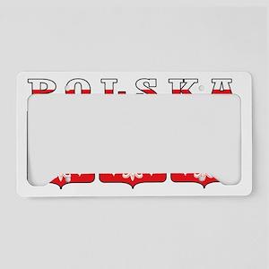 Polska Eagle Shields License Plate Holder