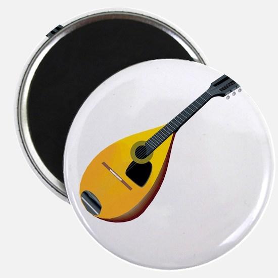 Mandolin (black) Magnet