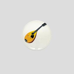Mandolin (black) Mini Button