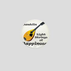 Mandolin (white) Mini Button