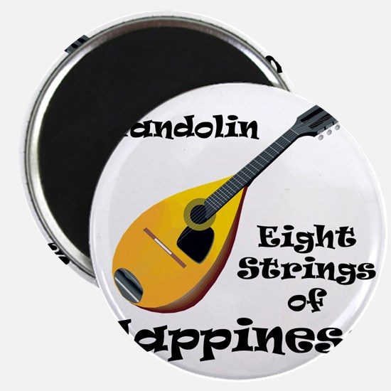 Mandolin (white) Magnet