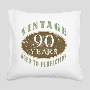 VinRetro90 Square Canvas Pillow