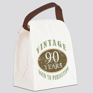VinRetro90 Canvas Lunch Bag