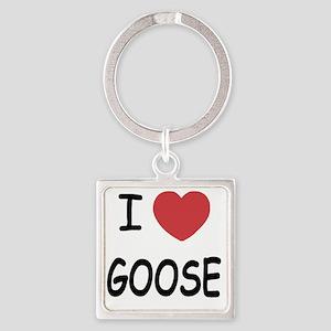 GOOSE Square Keychain