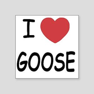 "GOOSE Square Sticker 3"" x 3"""