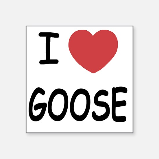 "GOOSE Square Sticker 3"" x 3"""