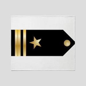 Lt. JG Board Throw Blanket