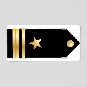 Lt. JG Board Aluminum License Plate