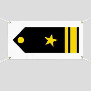 Lieutenant, JG Banner